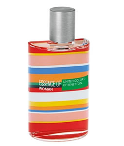 BENETTON ESSENCE OF WOMAN EDT FOR WOMEN