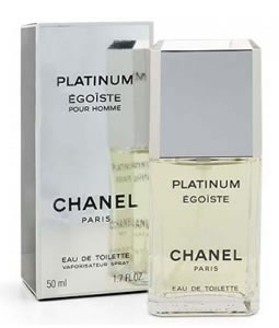 CHANEL EGOISTE PLATINUM POUR HOMME EDT FOR MEN
