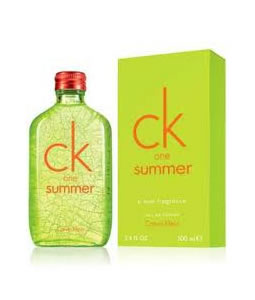CALVIN KLEIN CK ONE SUMMER 2012 EDT FOR UNISEX