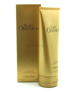 CALVIN KLEIN SECRET OBSESSION BODY LOTION 200ML FOR WOMEN