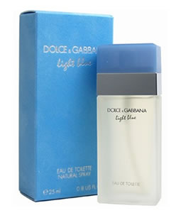 D&G LIGHT BLUE EDT FOR WOMEN
