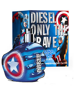 DIESEL ONLY THE BRAVE CAPTAIN AMERICA EDT FOR MEN