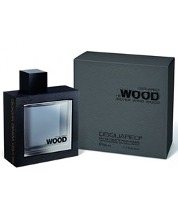 DSQUARED2 HE WOOD HE SILVER WIND WOOD EDT FOR MEN