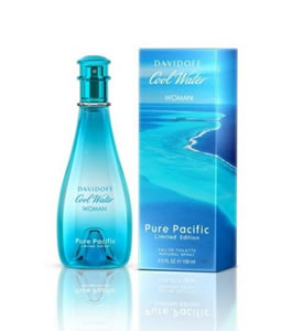 DAVIDOFF COOL WATER PURE PACIFIC EDT FOR WOMEN