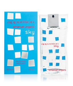 EMANUEL UNGARO APPARITION SKY EDT FOR WOMEN