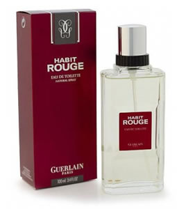 GUERLAIN HABIT ROUGE EDT FOR MEN