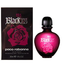 PACO RABANNE BLACK XS EDT FOR WOMEN