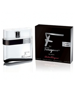 SALVATORE FERRAGAMO F FOR MEN BLACK EDT FOR MEN