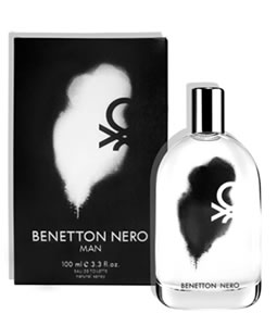 BENETTON NERO MAN FOR MEN