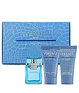 VERSACE MAN EAU FRAICHE MINIATURE 3 PIECES TRAVEL GIFT SET