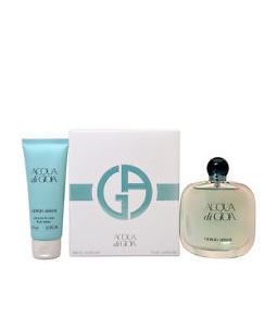 GIORGIO ARMANI ACQUA DI GIOIA EDP MINIATURE 2 PIECES TRAVEL GIFT SET FOR WOMEN