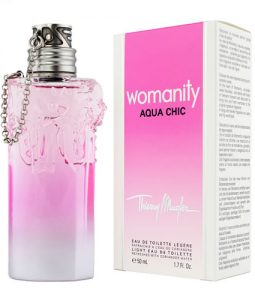 THIERRY MUGLER WOMANITY AQUA CHIC LEGERE EDT FOR WOMEN