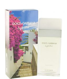 D&G DOLCE & GABBANA LIGHT BLUE ESCAPE TO PANAREA POUR FEMME EDT FOR WOMEN
