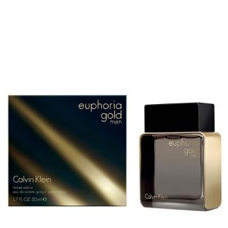 CALVIN KLEIN CK EUPHORIA GOLD LIMITED EDITION EDT FOR MEN