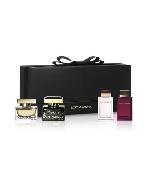 7cd5fc53 D&G DOLCE & GABBANA MINIATURE 4 PCS GIFT SET FOR WOMEN PerfumeStore ...