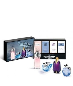 THIERRY MUGLER EXLCUSIVE TRAVEL RETAIL MINIATURE GIFT SET FOR WOMEN