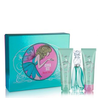 ANNA SUI SECRET WISH 3 PCS GIFT SET FOR WOMEN