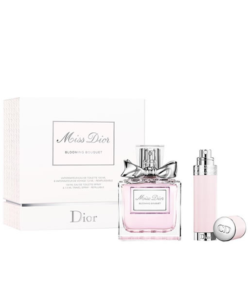 f5af7f0ee0 CHRISTIAN DIOR MISS DIOR BLOOMING BOUQUET 2 PCS TRAVEL SET FOR WOMEN