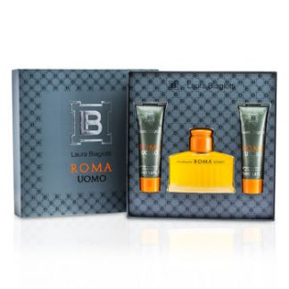 LAURA BIAGIOTTI ROMA COFFRET 3PCS GIFT SET FOR MEN