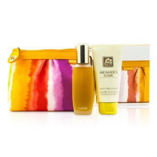 CLINIQUE AROMATICS ELIXIR COFFRET 2PCS+1BAG GIFT SET FOR WOMEN