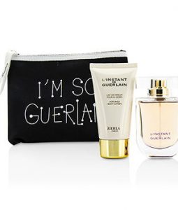 GUERLAIN LINSTANT DE GUERLAIN TRAVEL COFFRET 3PCS GIFT SET FOR WOMEN