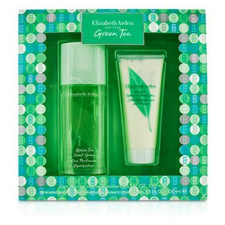 ELIZABETH ARDEN GREEN TEA COFFRET 2PCS GIFT SET FOR WOMEN