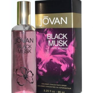 JOVAN BLACK MUSK CONCENTRATE COLOGNE EDC FOR WOMEN