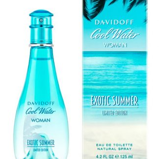 DAVIDOFF COOL WATER EXOTIC SUMMER LIMITED EDITION EDT FOR WOMEN