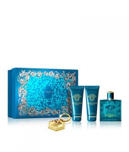 VERSACE EROS KEYCHAIN GIFT SET FOR MEN
