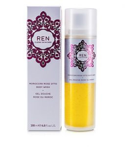 Ren - Rosa Centifolia 3-In-1 Cleansing Water (All Skin Types) - 200ml/6.8oz Multi-Active Day Early Wrinkle Correction Cream-Gel (Normal to Combination Skin), 1.7 OZ (50 ml), Age-defying plant extracts visibly minimize the.., By Clarins