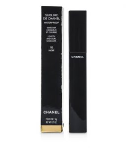 CHANEL SUBLIME DE CHANEL WATERPROOF MASCARA - # 10 NOIR 6G/0.21OZ