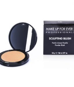 MAKE UP FOR EVER SCULPTING BLUSH POWDER BLUSH - #18 (SATIN LIGHT PEACH) 5.5G/0.17OZ