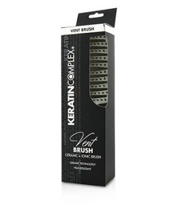KERATIN COMPLEX CURVED VENT BRUSH - # WHITE 1PC