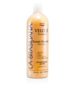 LA-BRASILIANA VELOCE INSTANT KERATIN TREATMENT WITH COLLAGEN 1000ML/33.8OZ