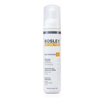BOSLEY PROFESSIONAL STRENGTH BOS DEFENSE THICKENING TREATMENT (FOR NORMAL TO FINE COLOR-TREATED HAIR) 200ML/6.8OZ