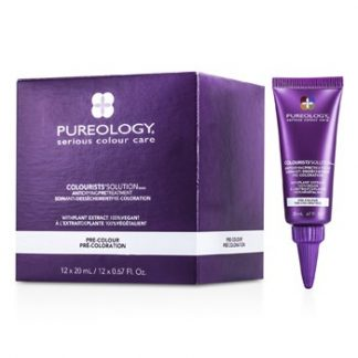 PUREOLOGY COLOURISTS SOLUTION ANTI DRYING PRE TREATMENT 12X20ML/0.67OZ