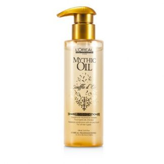 L'OREAL PROFESSIONNEL MYTHIC OIL SOUFFLE DOR SPARKLING CONDITIONER (FOR ALL HAIR TYPES) 190ML/6.42OZ