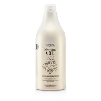 L'OREAL PROFESSIONNEL MYTHIC OIL SOUFFLE DOR SPARKLING CONDITIONER (FOR ALL HAIR TYPES) 750ML/25.4OZ
