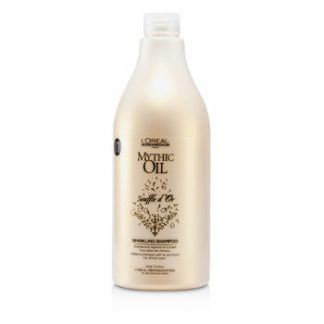 L'OREAL PROFESSIONNEL MYTHIC OIL SOUFFLE DOR SPARKLING SHAMPOO (FOR ALL HAIR TYPES) 750ML/25.4OZ