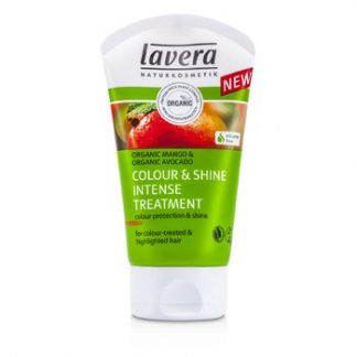 LAVERA ORGANIC MANGO & ORGANIC AVOCADO COLOUR & SHINE INTENSE TREATMENT (FOR COLOUR-TREATED & HIGHLIGHTED HAIR) 125ML/4.1OZ