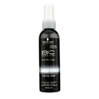SCHWARZKOPF BC FIBRE FORCE SPRAY CONDITIONER (FOR EXTREMELY DAMAGED HAIR) 150ML/5OZ
