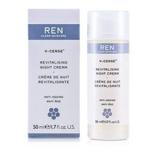 REN V-CENSE REVITALISING NIGHT CREAM (FOR DRY SKIN) 50ML/1.7OZ
