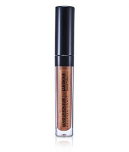 MAKE UP FOR EVER LAB SHINE METAL COLLECTION CHROME LIP GLOSS - #M6 (HAZEL BROWN) (UNBOXED) 2.6G/0.09OZ
