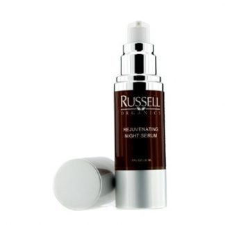 RUSSELL ORGANICS REJUVENATING NIGHT SERUM 30ML/1OZ
