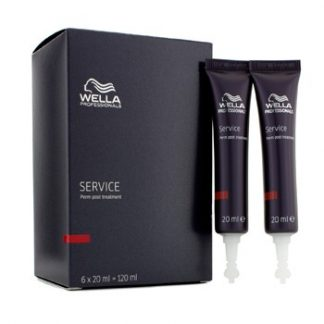 WELLA SERVICE PERM POST TREATMENT 6X20ML/0.7OZ