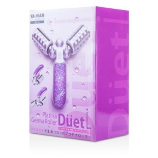 YA-MAN PLATINA GERMA ROLLER - DUET (# PURPLE) 3PCS