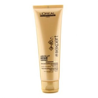 L'OREAL PROFESSIONNEL EXPERT SERIE - ABSOLUT REPAIR LIPIDIUM RECONSTRUCTING AND PROTECTING BLOW-DRY CREAM (F 125ML/4.2OZ