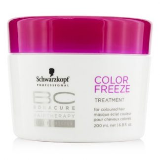 SCHWARZKOPF BC COLOR FREEZE TREATMENT - FOR COLOURED HAIR (NEW PACKAGING) 200ML/6.8OZ