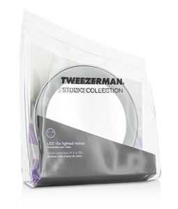 TWEEZERMAN LED 15X LIGHTED MIRROR (STUDIO COLLECTION) -