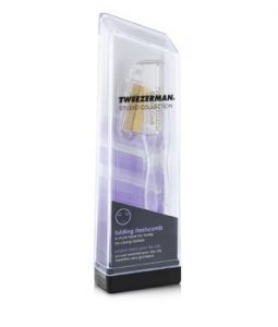 TWEEZERMAN FOLDING ILASHCOMB (STUDIO COLLECTION) -